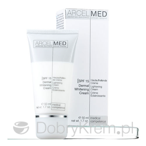 ArcelMed Dermal Whitening Cream SPF 15, 50 ml