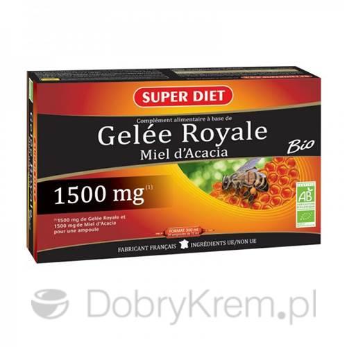 SUPER DIET Królewskie Mleczko Pszczele 20 x 15 ml