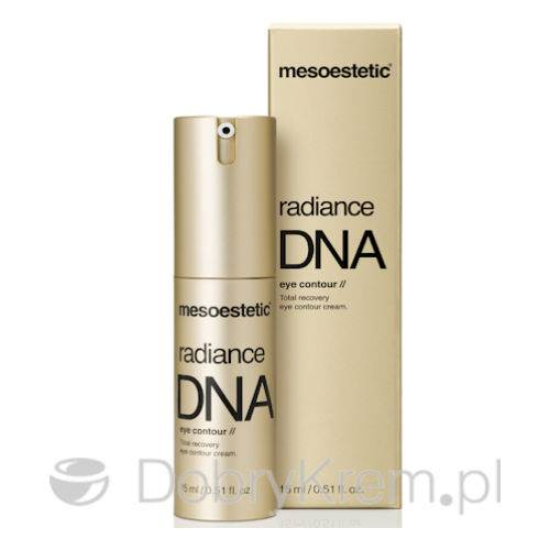 MESOESTETIC Radiance DNA krem modelujące oko 15 ml