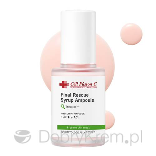 Cell Fusion Final Rescue Syrup Ampoule 30 ml