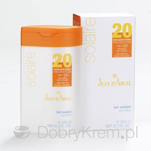 Jean D'Arcel Solaire Lait Solaire LSF20 200 ml