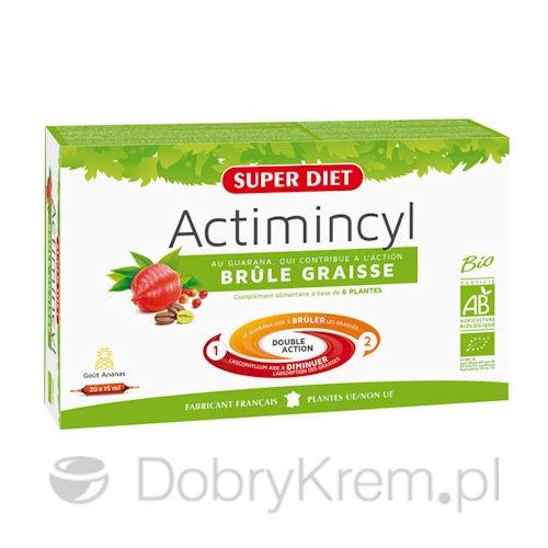 SUPER DIET Actimincyl Spalanie tłuszczu 20 x 15 ml