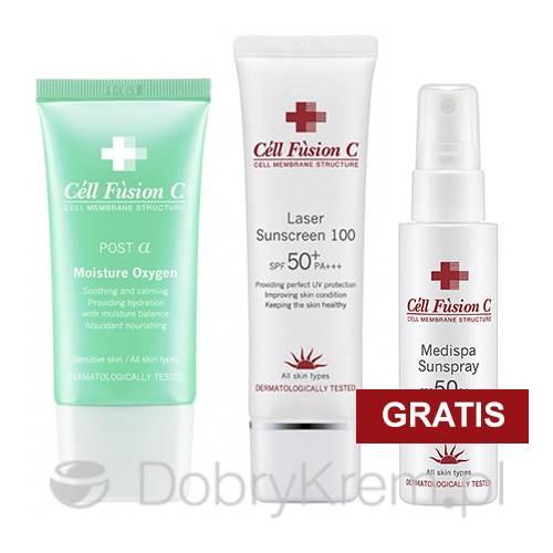 Cell Fusion Moisture Oxygen+Laser Sunscreen+GRATIS