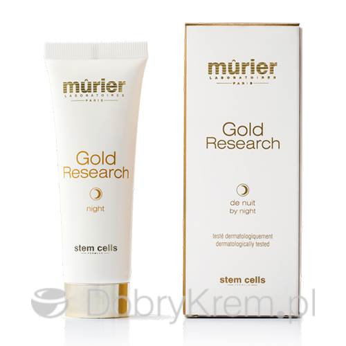 MURIER Krem Gold Research by Night 50 ml