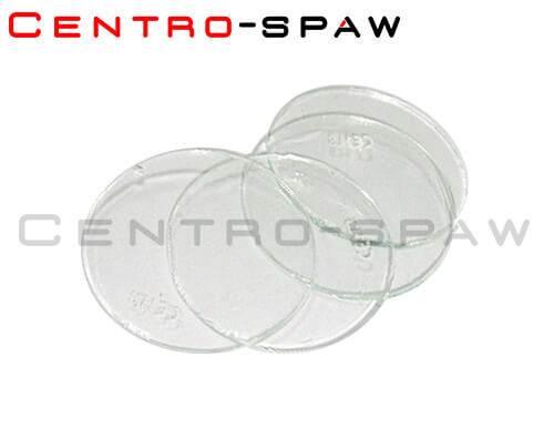 Szybka biała okrągła fi 50 mm