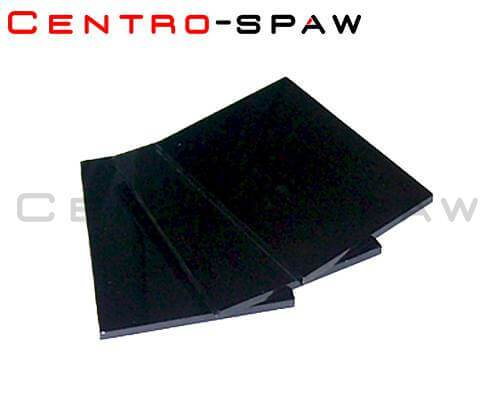 Szybka ciemna 80x100 mm 10 DIN