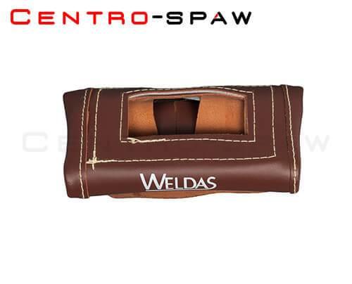 Maska spawalnicza skórzana składana WELDAS 44-7111