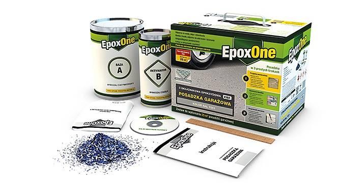 EPOXONE ART 1001 ZESTAW SZARY RAL 7001