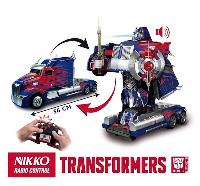 Autobot Optimus Prime car/robot RC