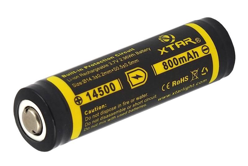 Akumulator  Xtar AA 14500 800mAh 3.7V zabezpieczony