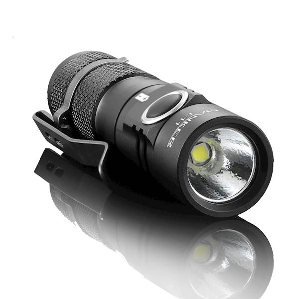 MANKER E11 800 lumenów Cree XP-L LED Neutral White BUNDLE