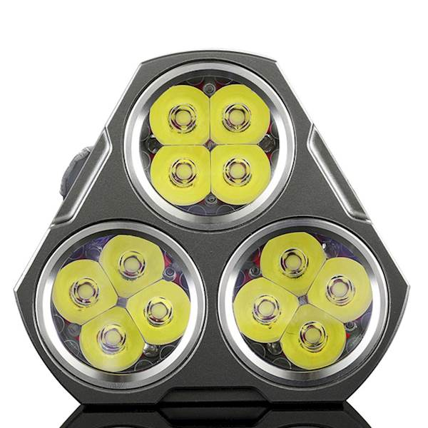Manker MK34 3 x 18650 8000 Lumenów Cree XP-G3 LED