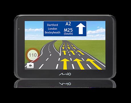 Mio Combo Drive 50 Nawigacja + Wideorejestrator