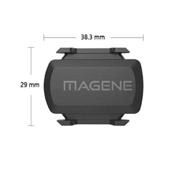 MAGENE Czujnik prędkości lub kadencji 2w1 Bluetooth i ANT+