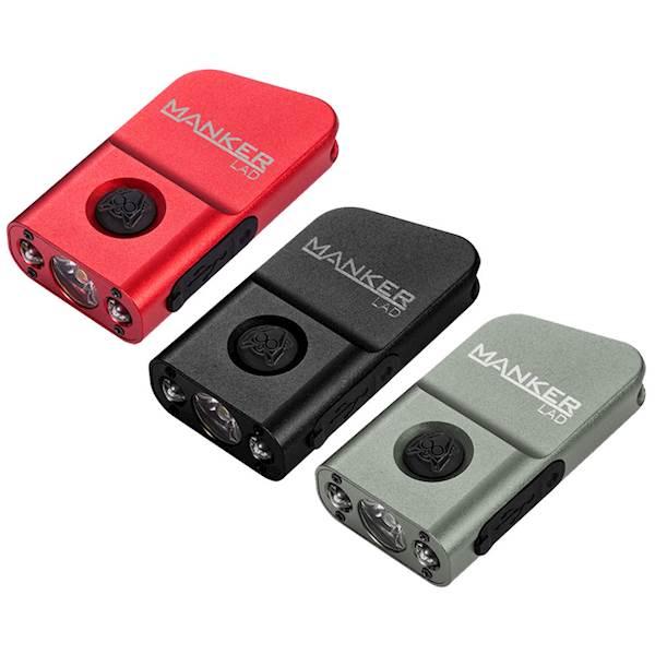 Latarka MANKER LAD Mini 230 lumenów USB Nichia 219C LED