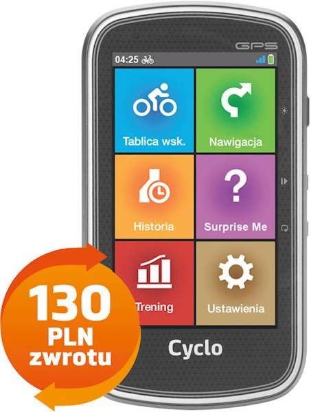 Mio Cyclo 605 Europe   CASHBACK 130 PLN