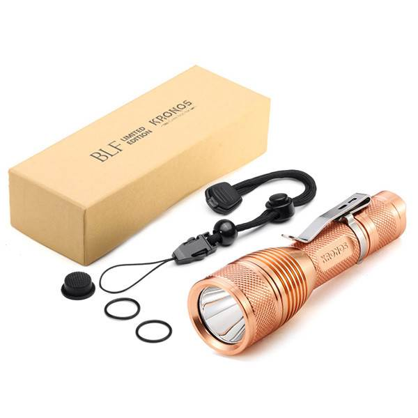 BLF X5 Cu 1400 lumenów XPL-HI LED