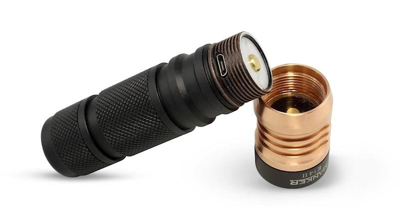 Manker E14 II 2200 Lumenów Nichia 219C LED BUNDLE