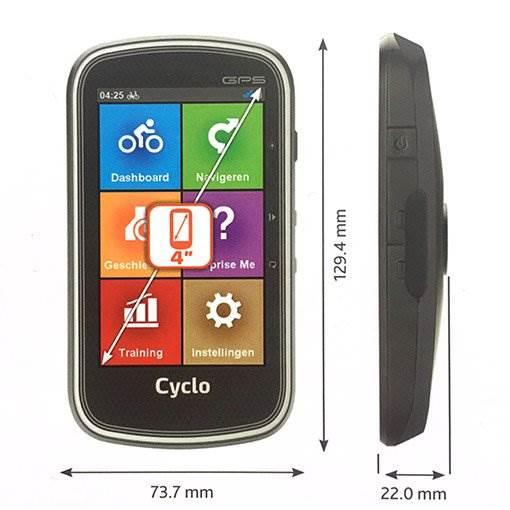 Mio Cyclo 605 Europe