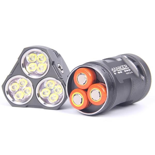 Manker MK34 6500 Lumenów Nichia 219C LED