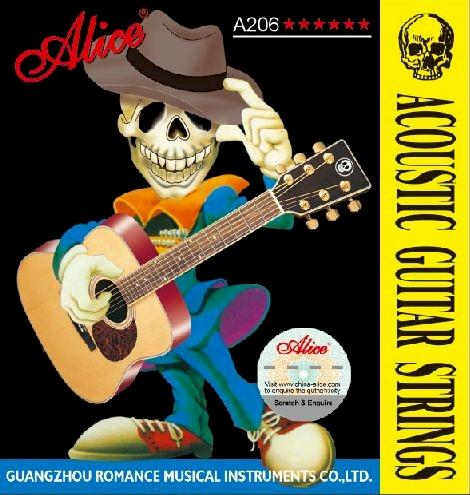 Struny Alice A206P-SL akustyk 11-52