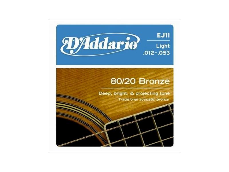Struny D'Addario EJ11 012-053 akustyk