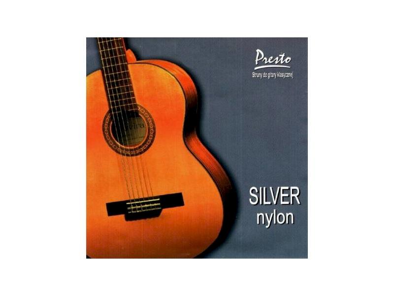 Struny Silver Nylon