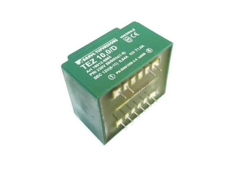 Transformator TEZ 10/D 230/12V 0,84A