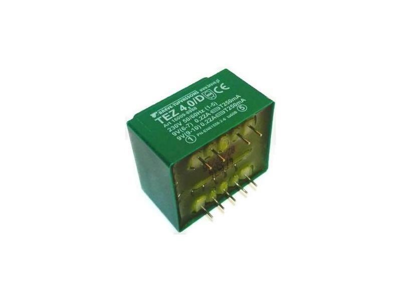 Transformator TEZ 4.0/D 230/9-9V 0,22A