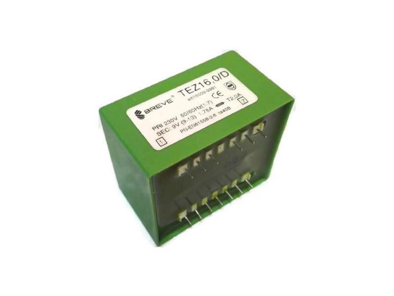Transformator TEZ 16/D 230/9V 1,78A