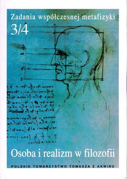 """Osoba i realizm w filozofii""  / ""The Person and Realism in Philosophy"" red. A. Maryniarczyk SDB, K. Stępień"