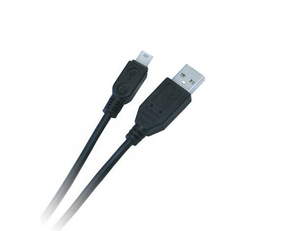 Kabel USB A wtyk - mini USB wtyk 1,8m LIBOX