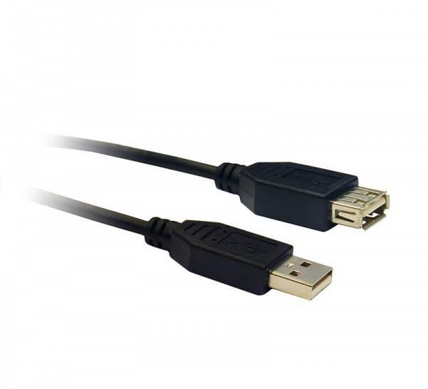 Kabel USB A wtyk - USB gniazdo ( przedłużka ) 1,8m