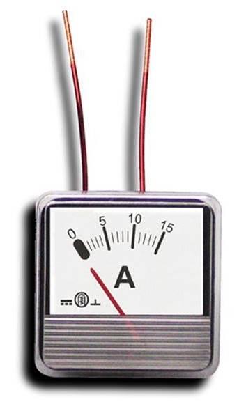 Miernik analogowy panelowy amperomierz 4A MP