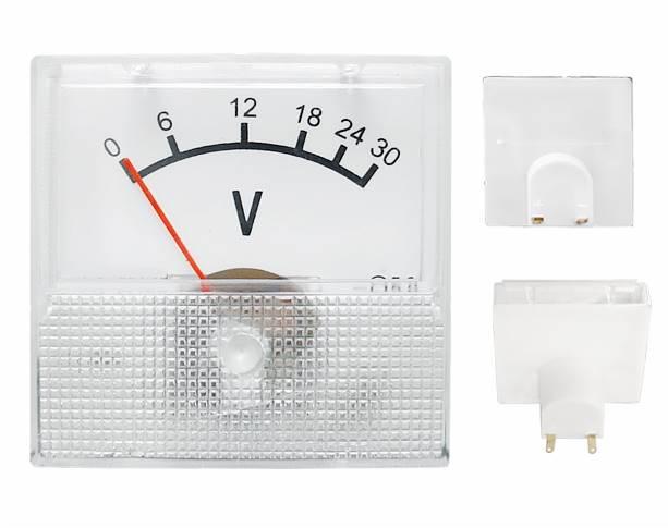 Miernik analogowy panelowy voltomiierz 30V