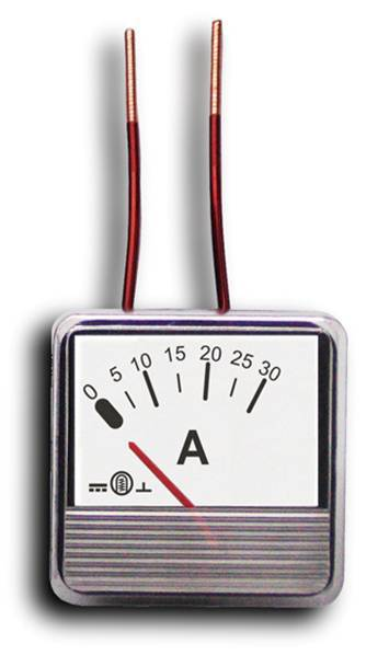 Miernik analogowy panelowy amperomierz 20A MP