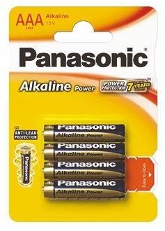 Bateria AAA Panasonic POWER ALKALINE