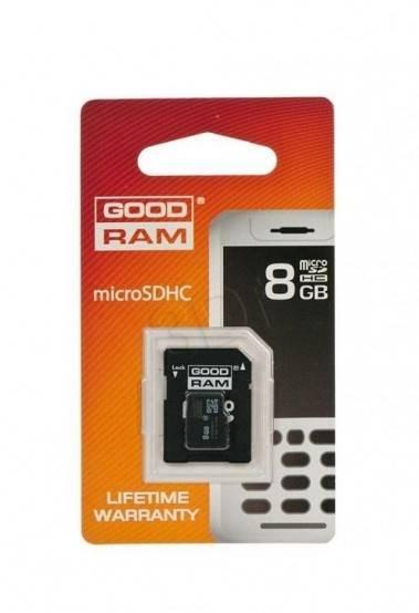 Karta pamięci micro SDHC 8G+adpter