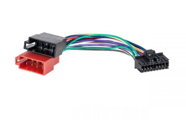 Złącze ISO - SONY XR340