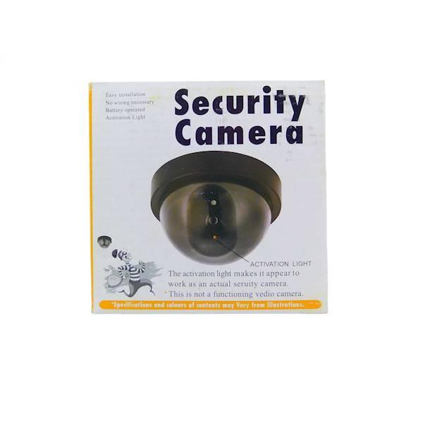 Atrapa kamery kopułkowa z diodą