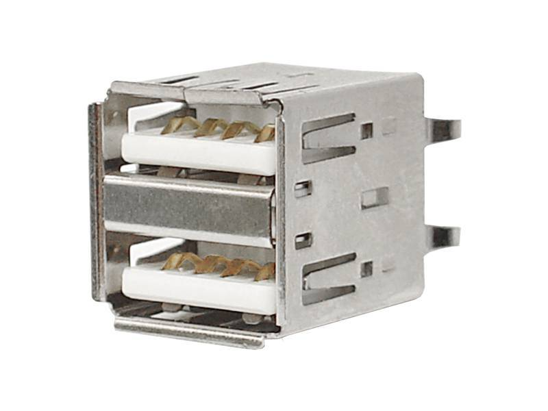 Gniazdo USB 2.0 do montażu podwójne