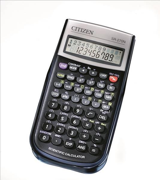 Kalkulator naukowy CITIZEN SR - 270N