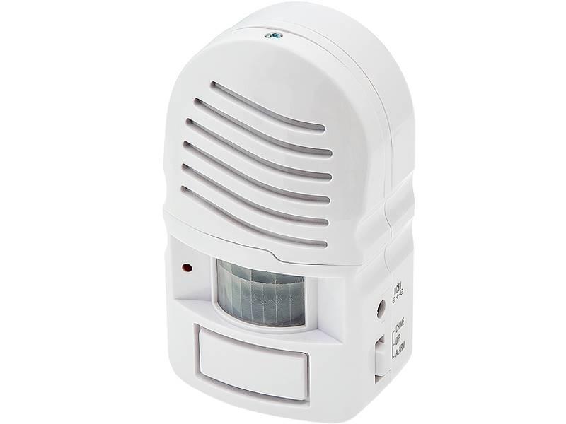 Alarm dzwonek z czujnikiem podczerwieni