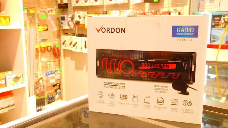 Radio samochodowe Vordon HT - EKG - 01