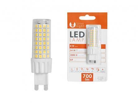 Żarówka LED TFO G9 8W 230V biały ciepły