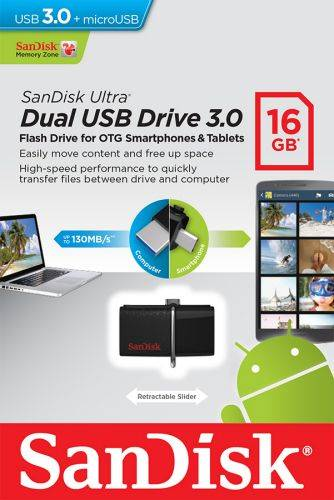 Pendrive SanDisk OTG micro USB/USB 3.0