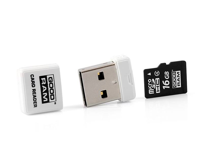 Czytnik kart micro SD + microUSB GOODRAM