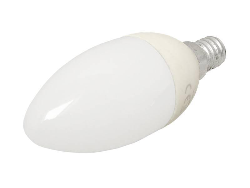 Żarówka Clivilight C37 E14 biała ciepła 2W