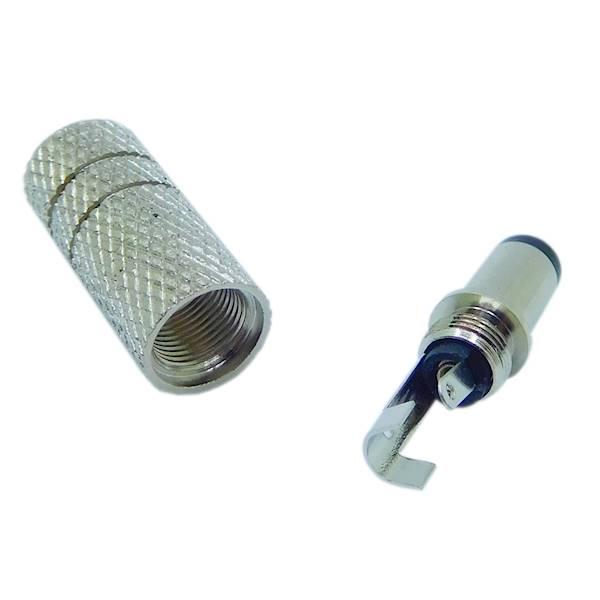 Wtyk DC 2,5 / 5,5 / 9,5 metal Vitalco
