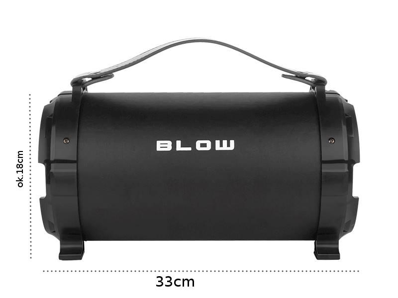 Głośnik Bluetooth duży BAZOOKA BT910